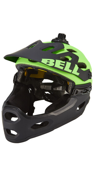Bell Super 2R MIPS Helmet mat Kryptonite
